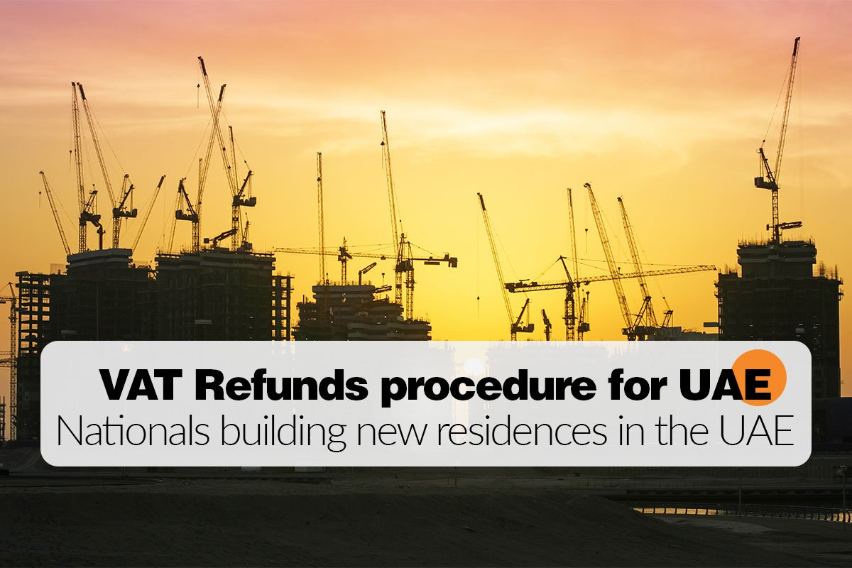 VAT Refund for UAE National on New Building