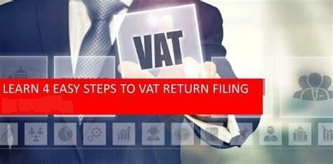 Four Easy steps involved in UAE VAT Return filing